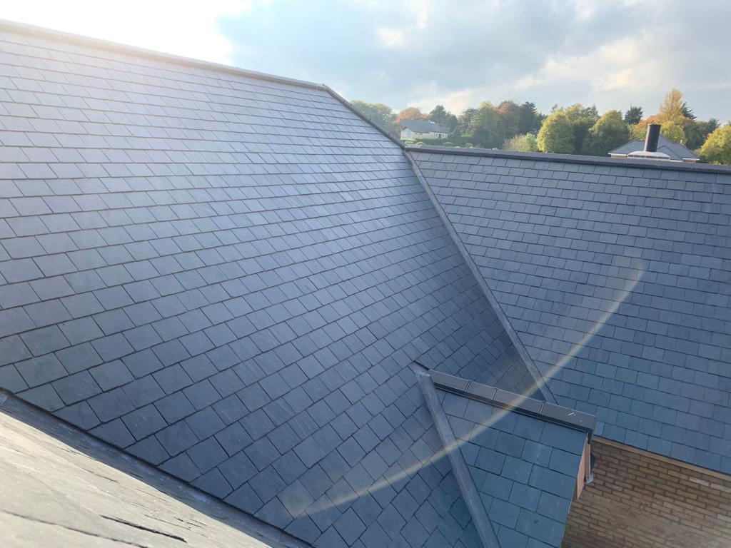 Slate roof by James Green Roofing